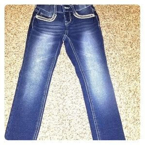 Girls stretchy jeans